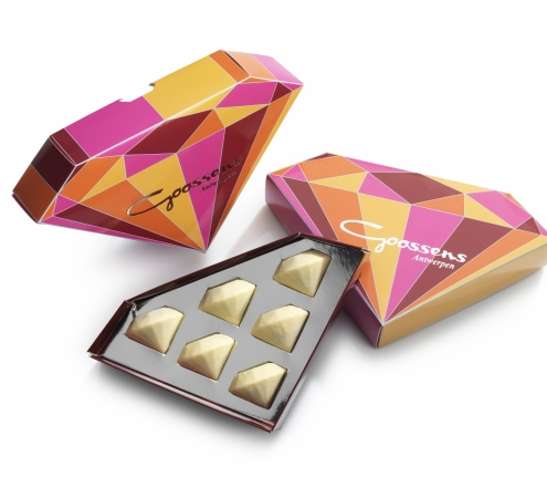 01 Chocolate Gifts_Diamond Shaped Chocolate Gift Box